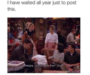 friends, christmas, and funny image