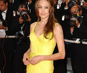 actress, Angelina Jolie, and Emanuel Ungaro image