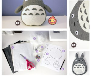 totoro, diy, and kawaii image