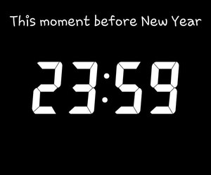 moment, new year, and time image