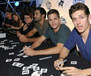 teen wolf, tyler hoechlin, and daniel sharman image