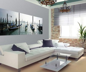 home decorating ideas, wall decor ideas, and living room wall decor image