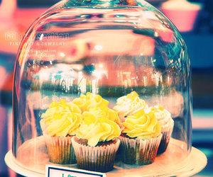 cupcake, sweet, and yellow image