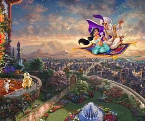 disney collection, disney, and thomas kinkade image