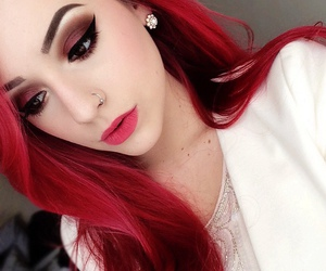 flawless, girl, and makeup image
