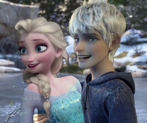 jelsa, elsa, and love image