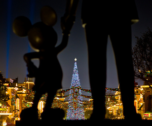disney, disneyland, and disney christmas image
