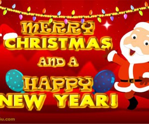 happy new year, merry christmas, and new year image