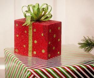 christmas, holidays, and gift image