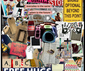 Collage, cool, and hugs image