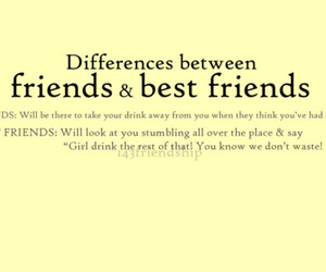 friends, quote, and bff image