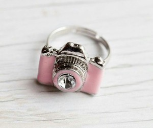 ring, camera, and pink image
