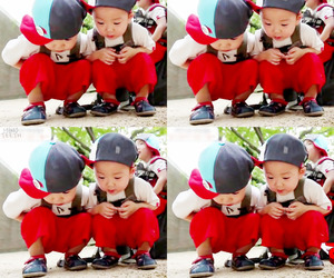 triplets and minguk image