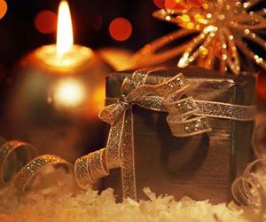 christmas, gift, and light image