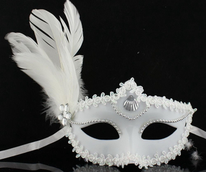 beauty, mask, and pretty image