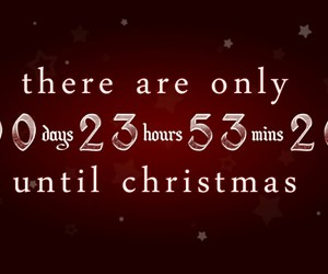 christmas, countdown, and presents image