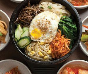 food and bibimbap image