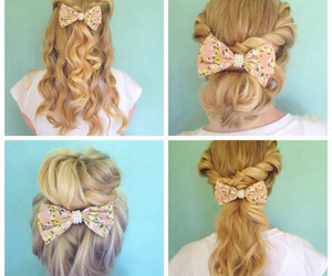 bow and curls image