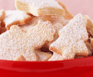 biscuits and christmas image
