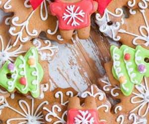 biscuits, christmas, and Cookies image
