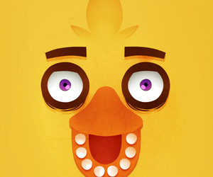 Chica, five nights at freddy's, and fnaf chica image