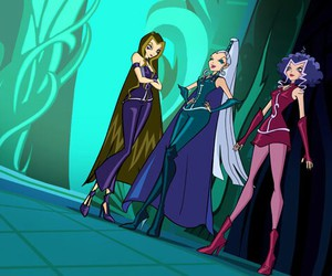 icy, stormy, and winx club image