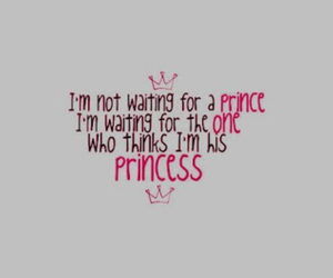 love, princess, and quote image