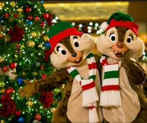 chip n dale and merry christmas to you image