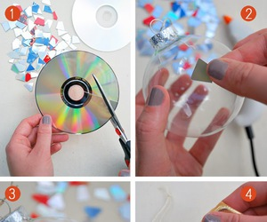 diy, christmas, and cd image