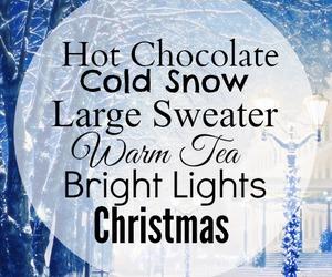 chocolate, holidays, and lights image