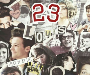 23, birthday, and louis tomlinson image