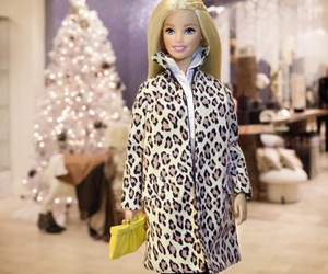 barbie and leopard image