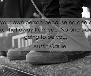 quote, austin carlile, and of mice & men image
