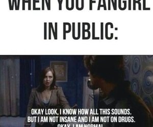 fangirl, fandom, and supernatural image
