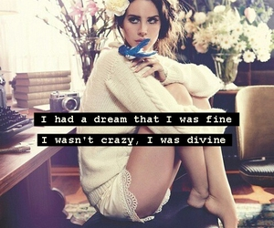 crazy, Lyrics, and lana del rey lyrics image