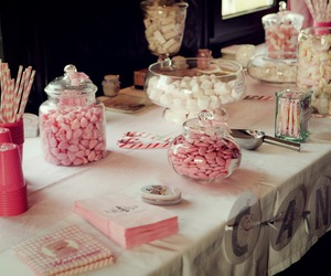 candy bar, mariage, and wedding image