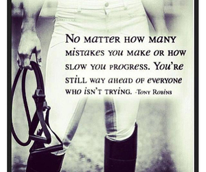 horse and mistakes image