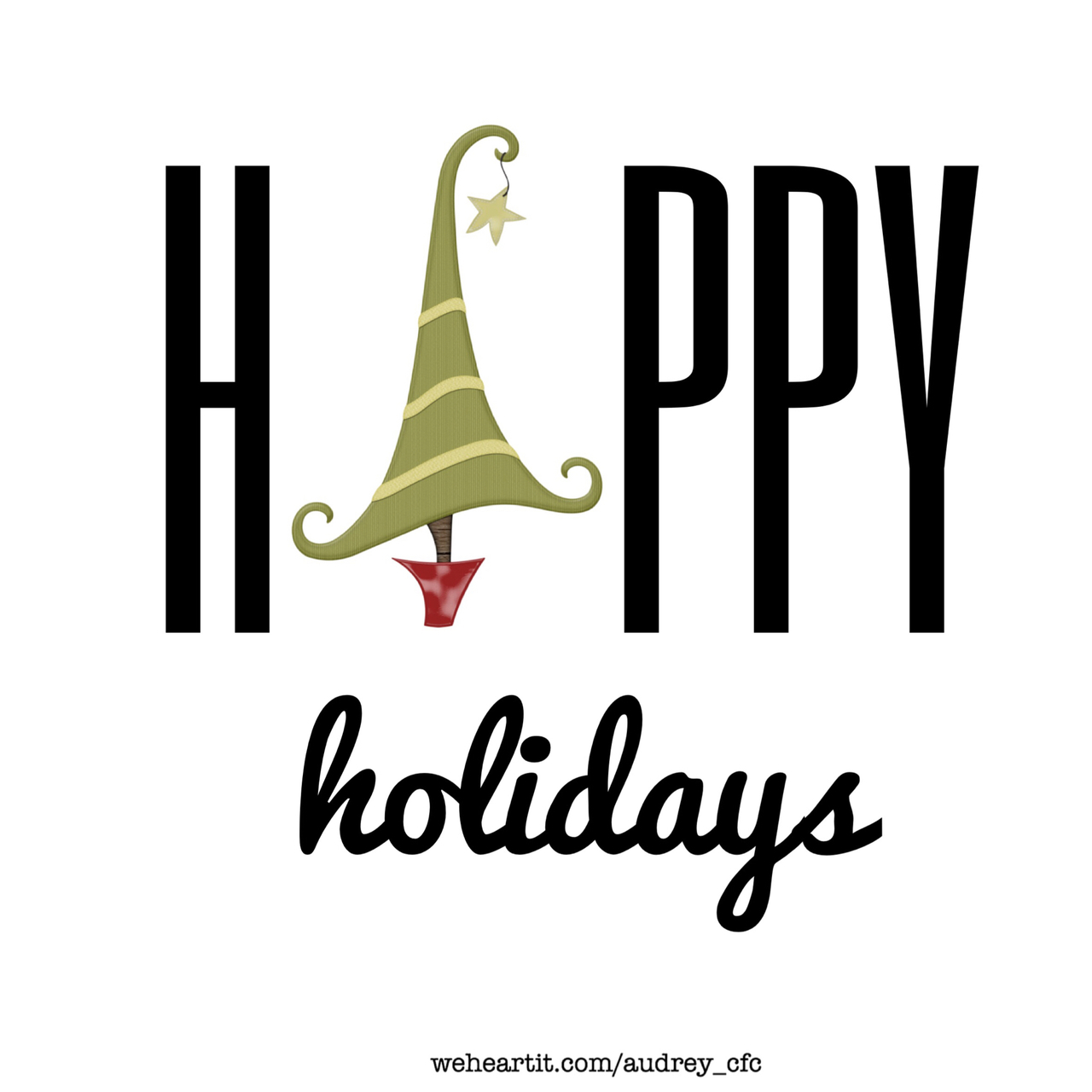 december, happy, and holidays image