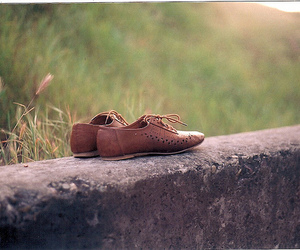 shoes and nature image