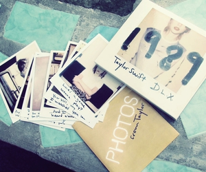 1989, polaroids, and Taylor Swift image