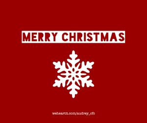 christmas, merry, and red image