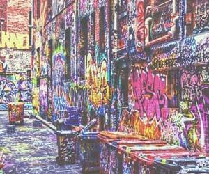 graffiti, art, and street image