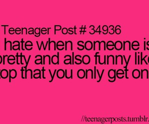 funny, teenager post, and pretty image