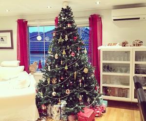 christmas, christmastree, and love image
