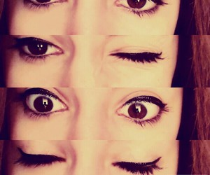 beauty, brown, and eyes image