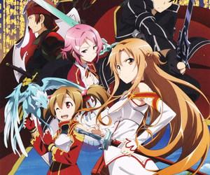 sword art online, anime, and sao image