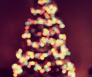christmas, pretty, and tree image
