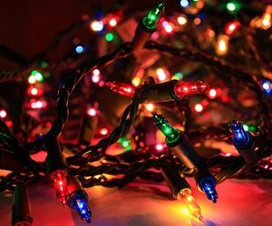 christmas, pretty, and lights image