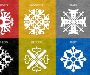 game of thrones, stark, and martell image