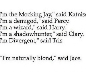 funny, jace, and divergent image